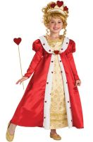 Red Heart Princess Child Costume