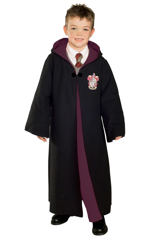 harry potter deluxe gryffindor robe child costume. Black Bedroom Furniture Sets. Home Design Ideas