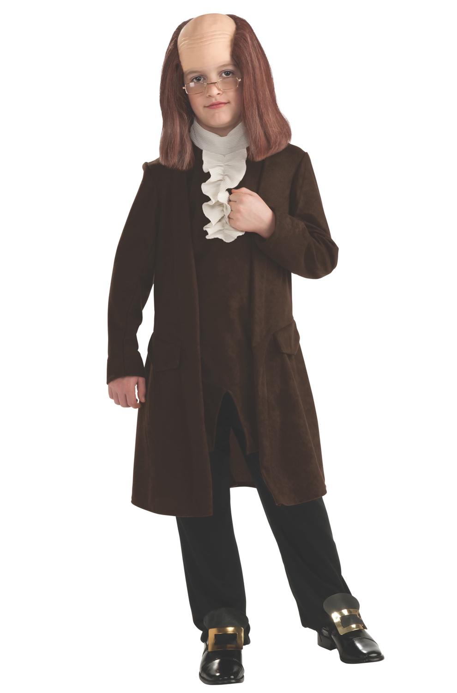 Benjamin Franklin Deluxe Child CostumeBenjamin Franklin As A Child