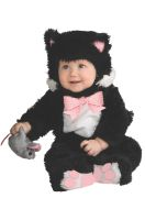 Noah's Ark Collection Inky Black Kitty Infant Costume