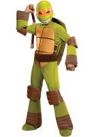 Teenage Mutant Ninja Turtles Deluxe Michaelangelo Child Costume