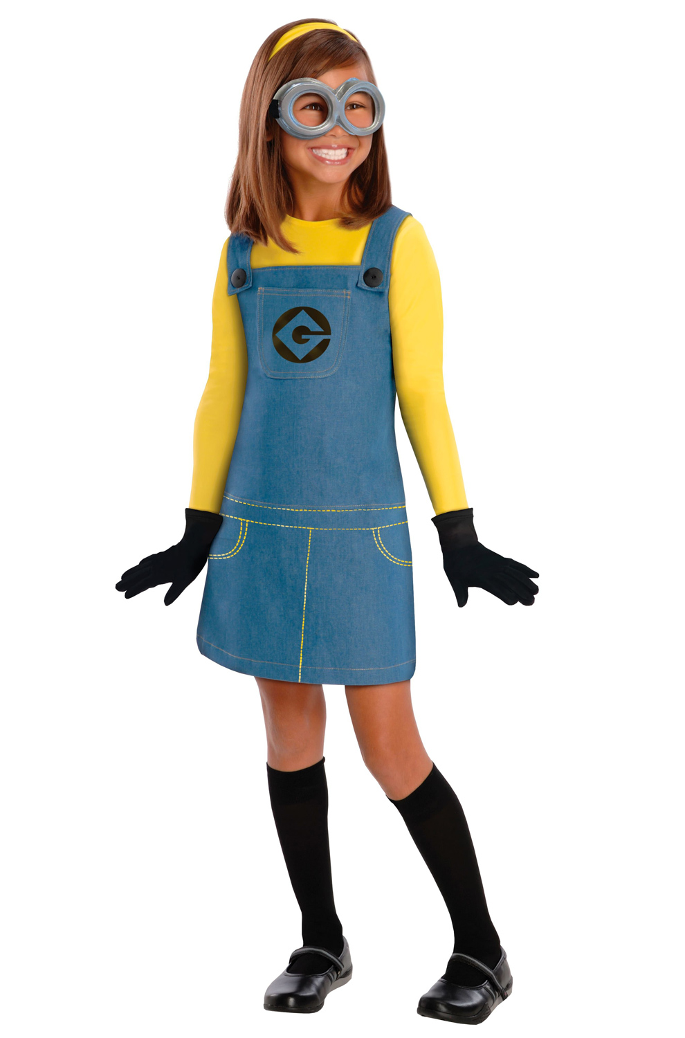 Despicable Me 2 Female Minion Child Size Costume
