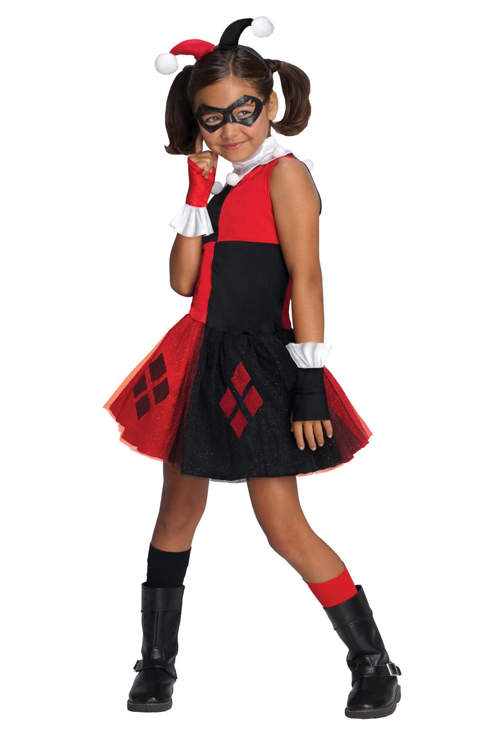 DC Super Villains Harley Quinn Tutu Toddler/Child Costume - PureCostumes.com  sc 1 st  Pure Costumes & DC Super Villains Harley Quinn Tutu Toddler/Child Costume ...