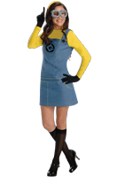 Despicable Me 2 Female Minion Adult Costume