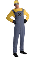 Despicable Me 2 Minion Dave Adult Costume