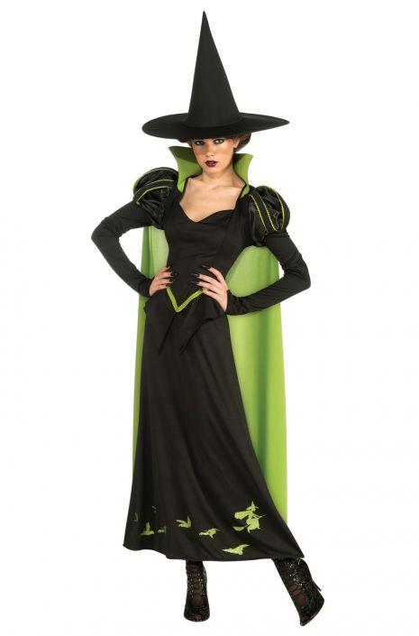 The Wizard of Oz Wicked Witch Halloween Sensations Adult Costume  sc 1 st  Pure Costumes & The Wizard of Oz Wicked Witch Halloween Sensations Adult Costume ...