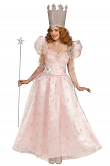 Expensive vs Affordable Costumes The Wizard of Oz Glinda the Good Witch Adult Costume