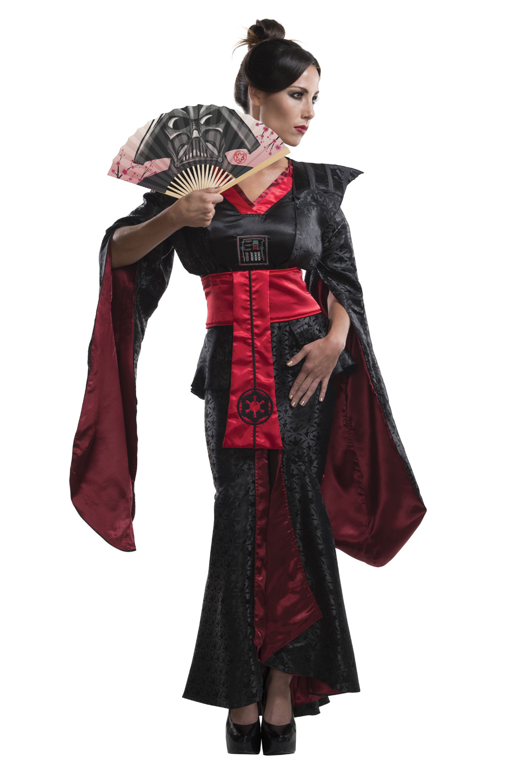 d80b717025038 Darth Vader Samurai Female Adult Costume - PureCostumes.com