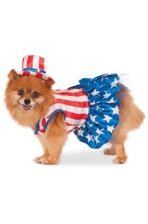 Patriotic Pooch Girl Pet Costume Purecostumes Com