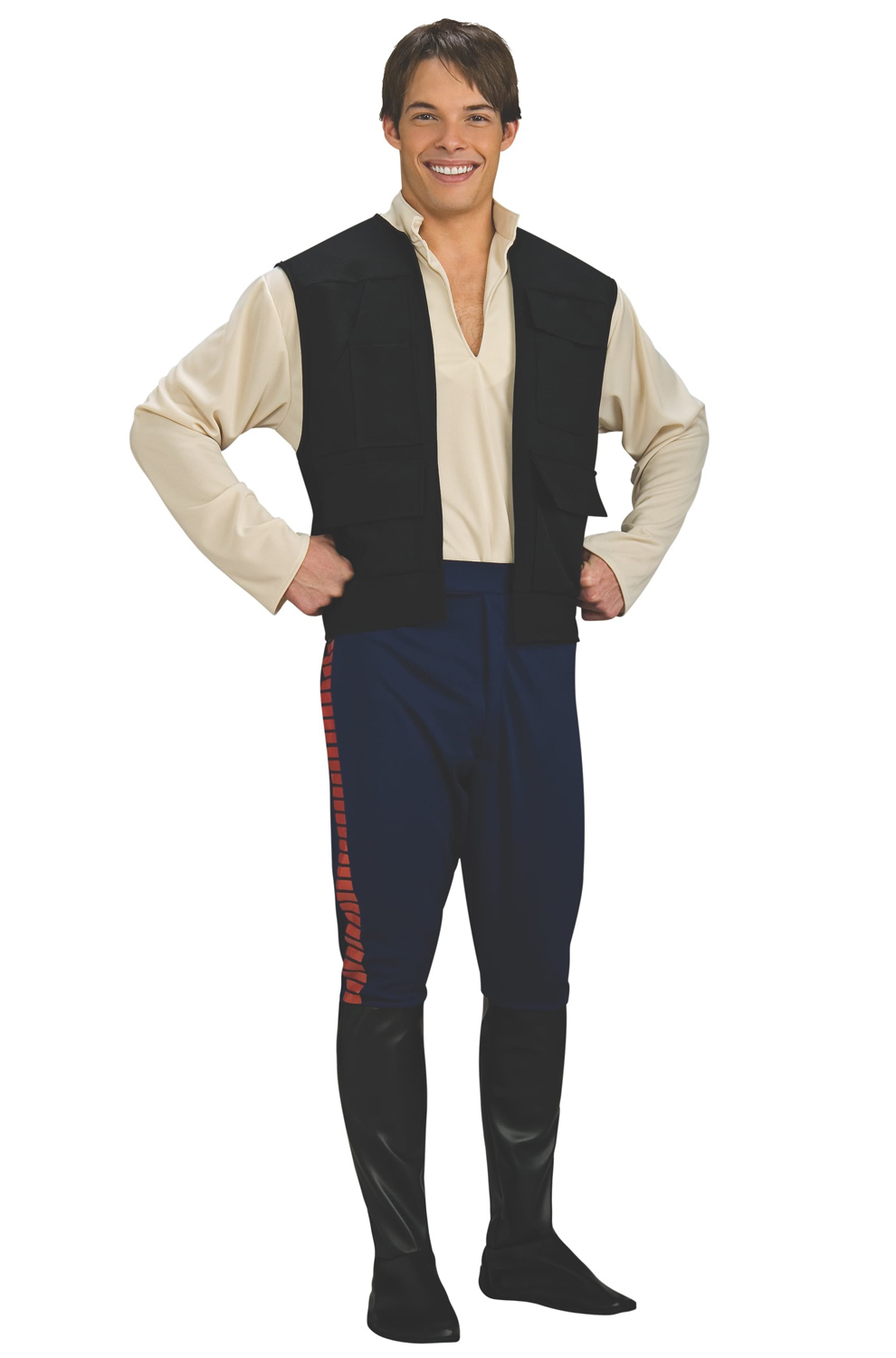 Click Here to buy Star Wars Deluxe Han Solo Adult Costume from Pure Costumes