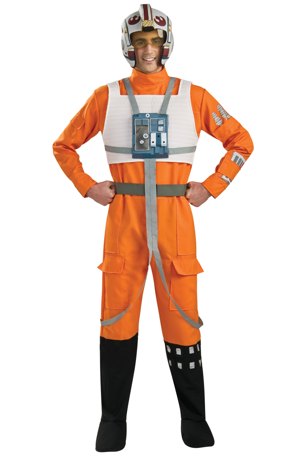 Click Here to buy Star Wars X-Wing Pilot Adult Costume from Pure Costumes