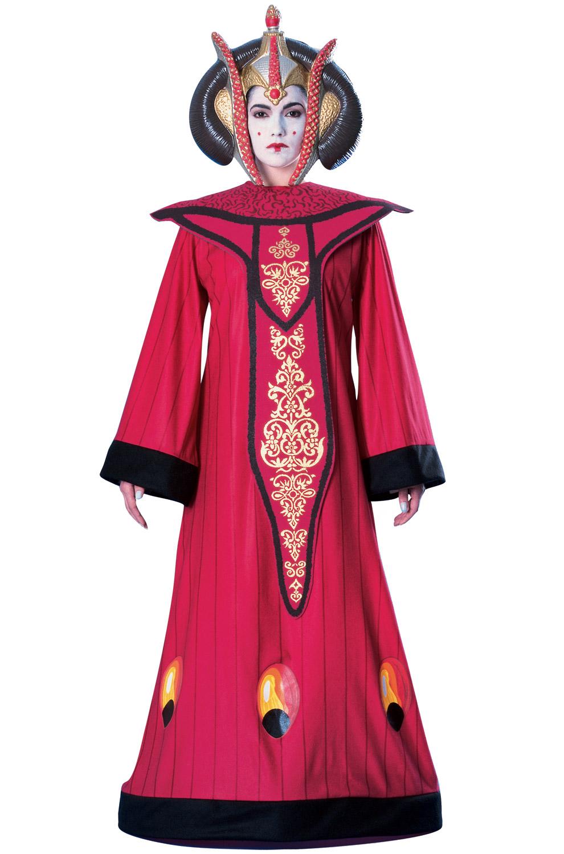 Brand New Star Wars Deluxe Queen Amidala Adult Halloween ...
