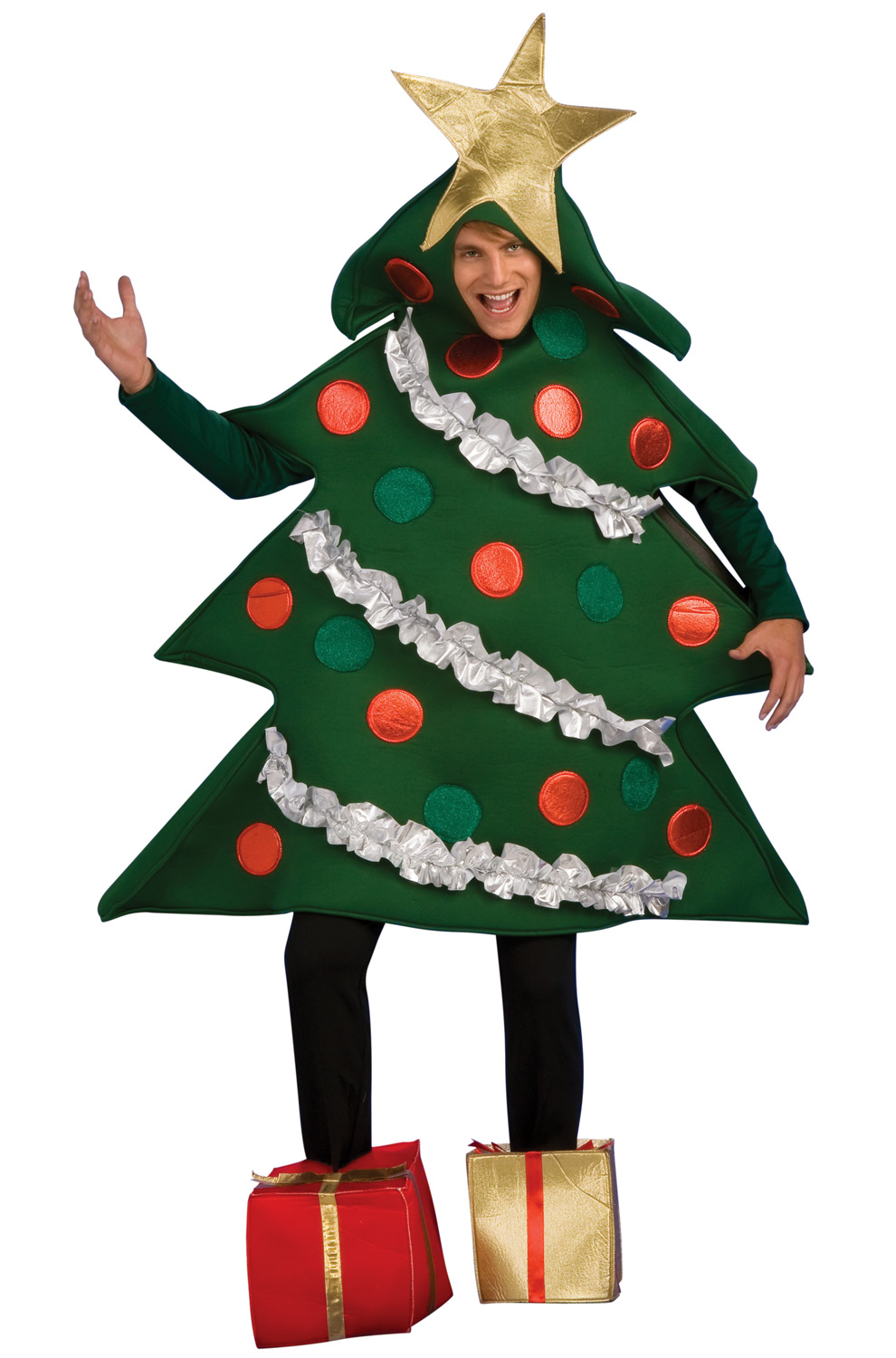 Holiday christmas tree adult costume purecostumes