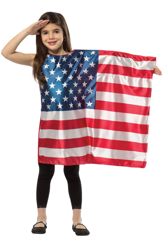 usa flag dress child costume   purecostumes