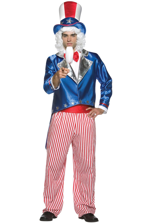 Uncle Sam Adult Costume Purecostumes Com