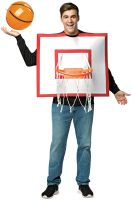 Basketball Backboard Adult Costume