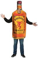 Fireball Get Real Bottle Adult Costume