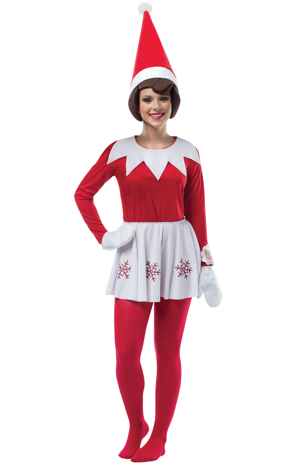 Elf On A Shelf Female Adult Costume Purecostumes Com