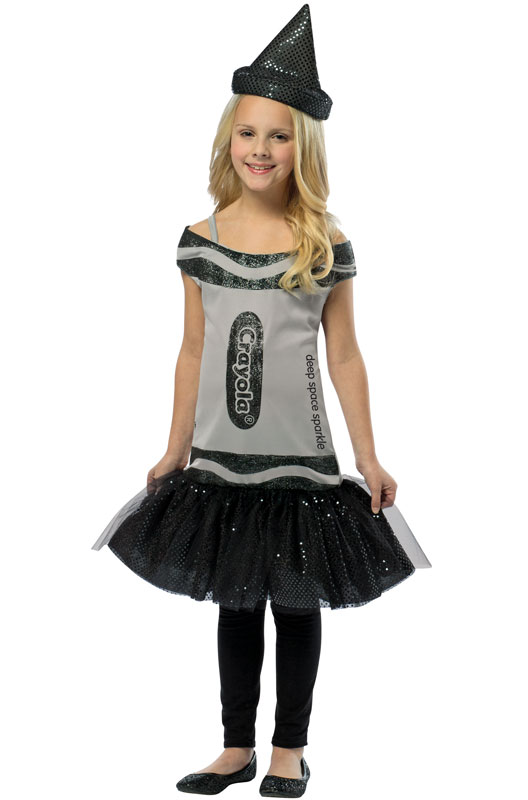 Crayola Glitz and Glitter Deep Space Sparkle Dress Child Costume (7-10) - PureCostumes.com  sc 1 st  Pure Costumes & Crayola Glitz and Glitter Deep Space Sparkle Dress Child Costume (7 ...