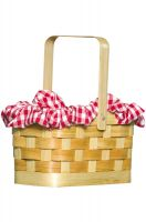 Gingham Basket Accessory