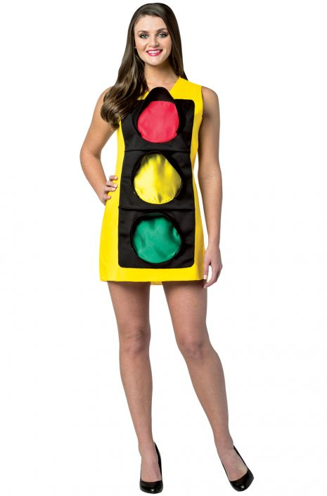 traffic light dress adult costume