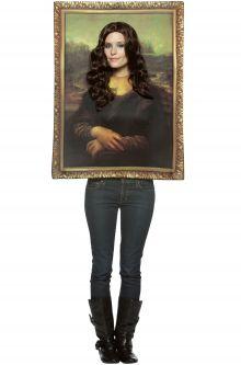 Mona Lisa Adult Costume