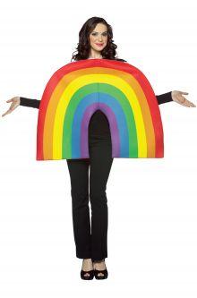 Rainbow Adult Costume Gay Pride Fashion