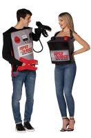 Battery & Jumper Cables Adult Costume (Pair)