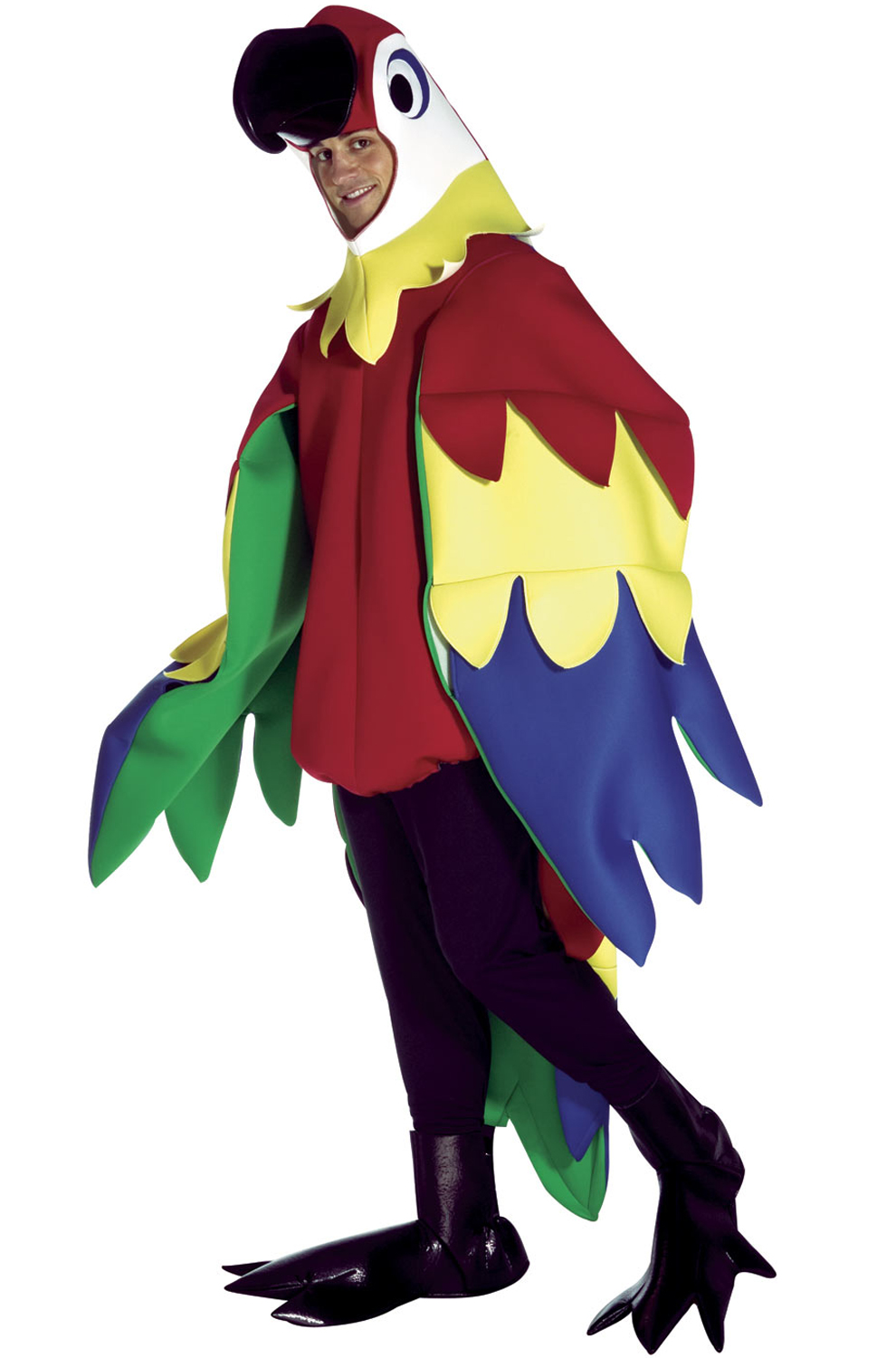 Click here to buy deluxe parrot adult costume from pure costumes