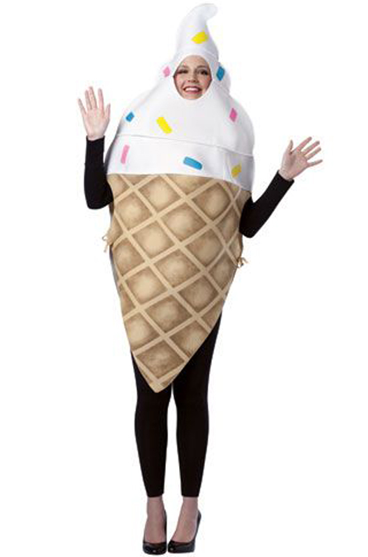 ice cream cone adult costume ebay