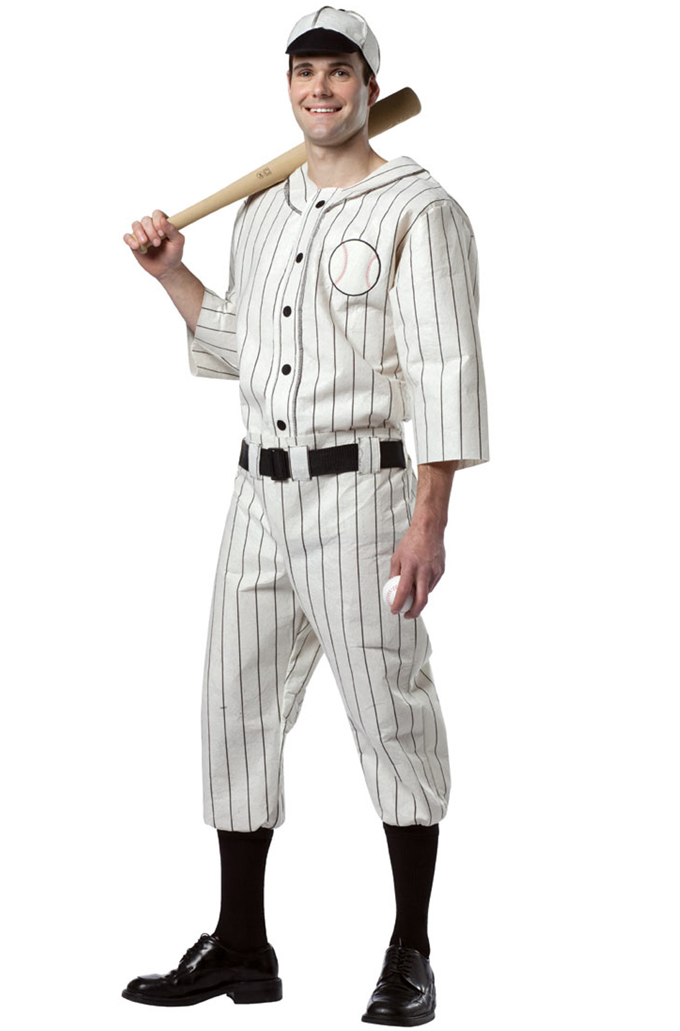 Old Tyme Baseball Player Plus Size Costume