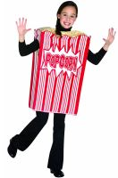 Movie Night Popcorn Child Costume (7-10)