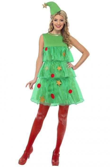 Christmas Tree Costume.Christmas Tree Dress Adult Costume