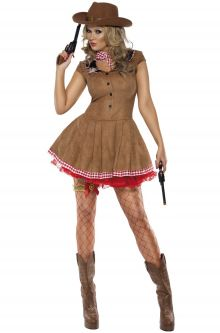 COVID-19-Appropriate costumes Fever Wild West Adult Costume
