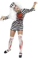 Zombie Convict Dress Adult Costume