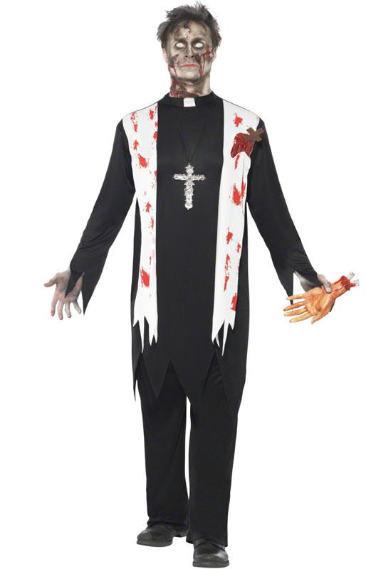 Zombie Priest Adult Costume