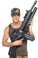 Inflatable Machine Gun Accessory