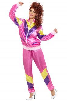 80s Fashion Female Shell Suit Adult Costume  sc 1 st  Pure Costumes & 80u0027s Costumes for Adults - PureCostumes.com