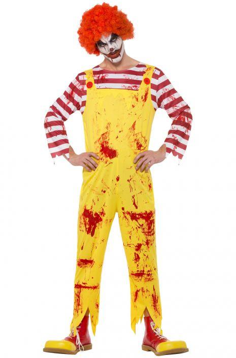 Kreepy Killer Clown Adult Costume