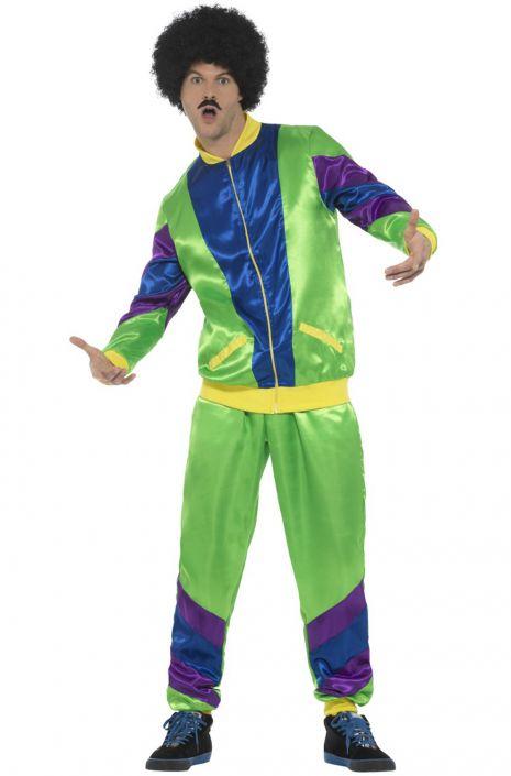 80s Male Shell Suit Adult Costume - PureCostumes.com 97986ec88