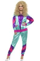 80s Female Shell Suit Adult Costume