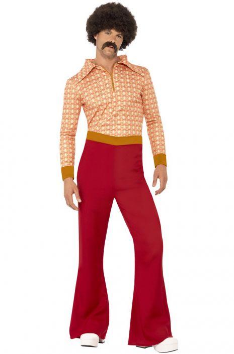 Men's Vintage Style Clothing 70s Cool Guy Adult Costume $43.95 AT vintagedancer.com