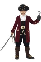 Deluxe Pirate Captain Child Costume