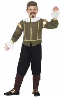Famous people costumes celebrity diy dress up ideas purecostumes shakespeare child costume solutioingenieria Image collections