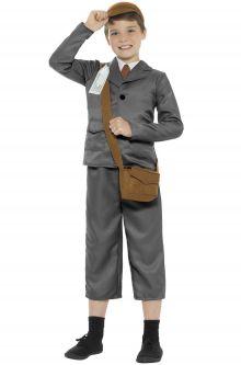 Home School Historical Costumes WW2 Boy Child Costume