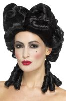 Gothic Baroque Wig (Black)