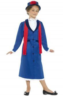 Back to School Costumes Victorian Nanny Child Costume