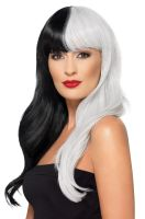 Deluxe Half and Half Adult Wig