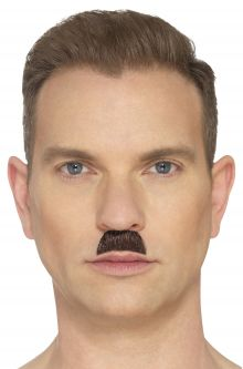 The Toothbrush Moustache (Brown)  sc 1 st  Pure Costumes & WWII - World War 2 Costumes - PureCostumes.com