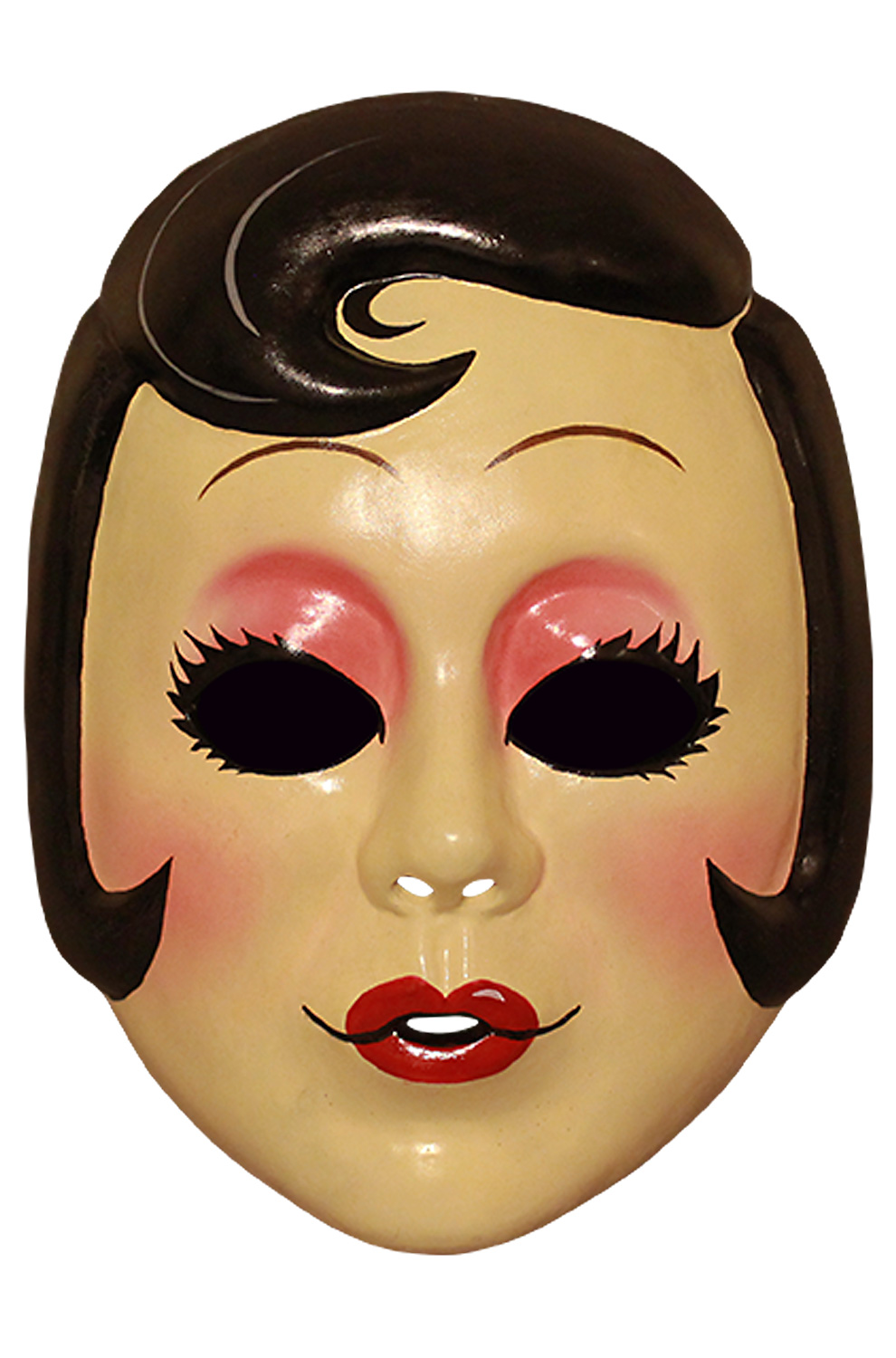 the strangers pin up girl vacuform mask - purecostumes